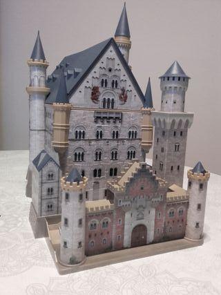 puzzle 3D castillo Neuschwanstein