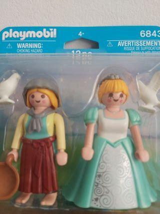 PLaymobil campesina y princesa