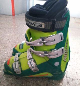 esquís snowboard botas