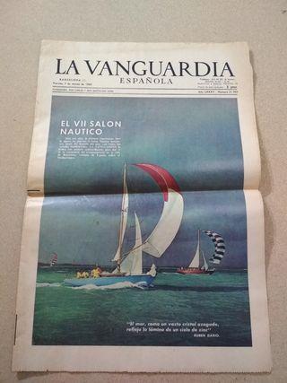 periódico La Vanguardia Española 1969