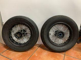 Ruedas 10 pulgadas pit bike supermotard