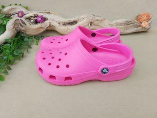 Crocs zapato chancleta Rosa mujer talla 39