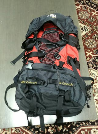 Mochila montaña camping Artiach TRH 55