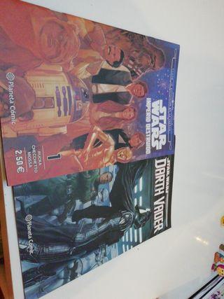 2 cómics de STAR WARS!