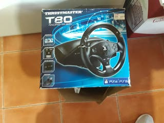 thrustmaster t 80 racing whell