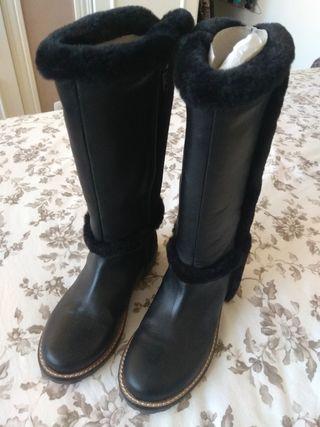 botas negras niña talla 30 sin estrenar