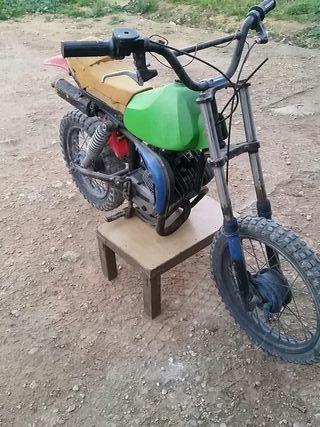 minimoto antigua de cross