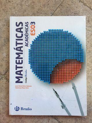 Libro de texto matemáticas 3ESO