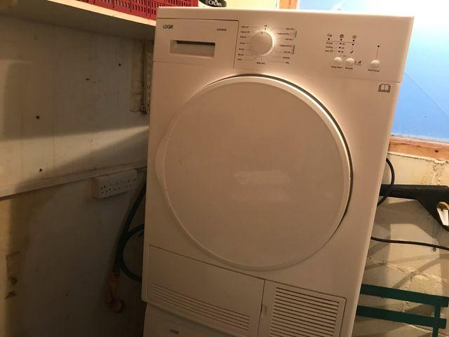 LOGIK Condenser Dryer and Washing Machine
