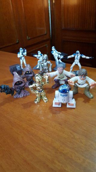 Coleccion de muñecos de Stars Wars