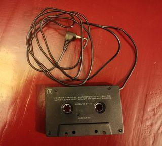 Adaptador para radio cassette