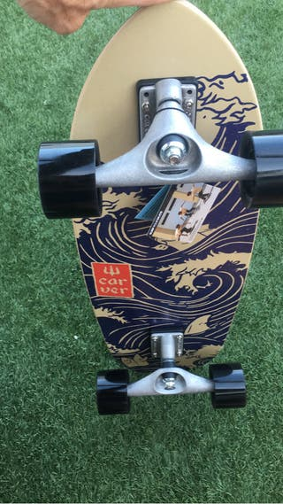 "Carver surfskate Snapper 28"""" ejes CX"