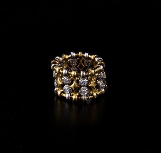 Anillo Carrera y Carrera en Oro y diamantes