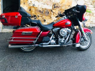 Harley electra streaming eagle 110 cubic inches