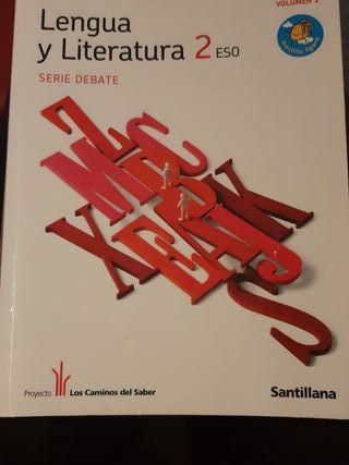 Libro de texto Lengua y Literatura 2 ESO