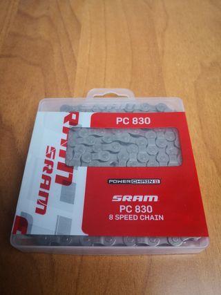 Cadena SRAM PC 830 7/8 velocidades NUEVA