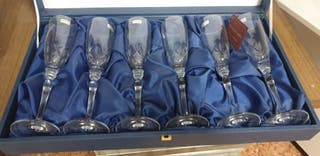 6 copas de champán Zweisel Glas