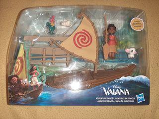 Set Vaiana canoa de aventuras NUEVO