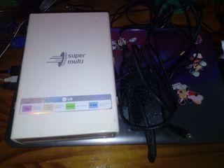 grabadora portátil LG doble capa