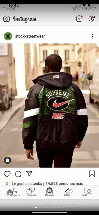 Chaqueta supreme Nike
