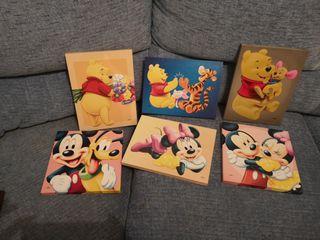 Cuadros Disney conjunto o por separado