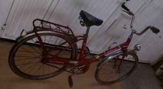 bici plegable bh sport rojo ruedas 24 pulgadas