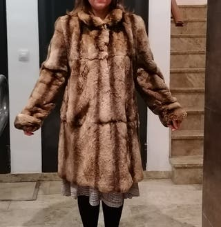 Se vende abrigo de piel