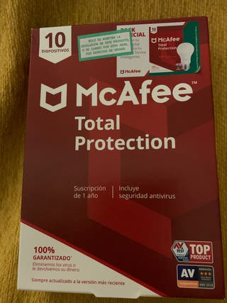 Antivirus McAfee total protection