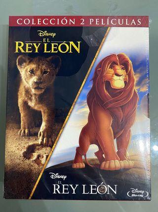 Coleccion el Rey Leon blue ray disney Nueva