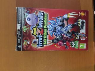 Invizimals PSP realidad virtual