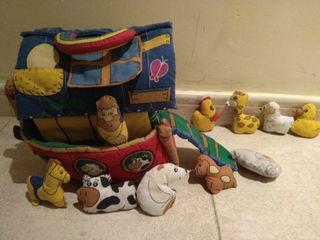 Arca de Noé de peluche