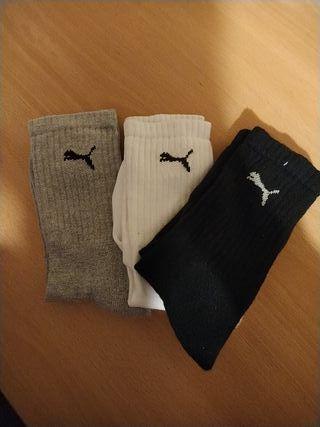 Calcetines altos puma