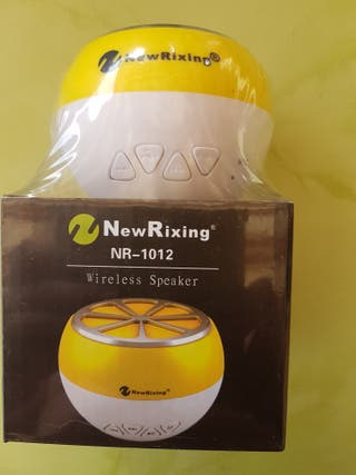 New Rixing altavoz mini. Wireless.