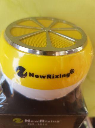 New Rixing altavoz mini. Wireless.