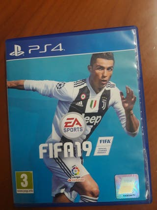 Juego FIFA 19 PS4