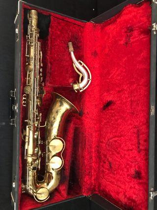 Saxofon Tenor King Zephyr ( Tudel plata maziza)