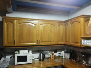Muebles de cocina de roble