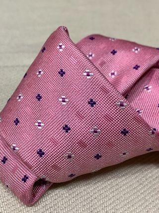 Corbata italiana de seda 100% nueva