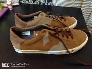 zapatillas marrones k-swiss