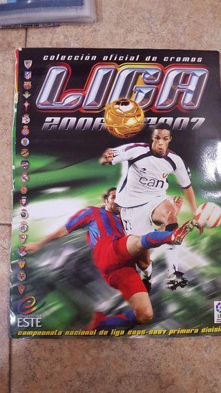 liga 2006/2007 álbum