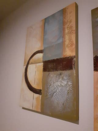 Pack de dos paneles colgar de 70 x 50 cm