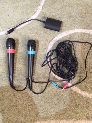 Micrófonos SingStar PS3