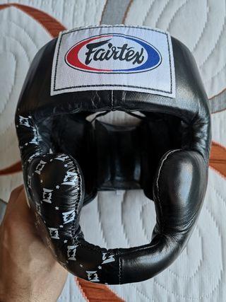 Casco sparring fairtex HG10