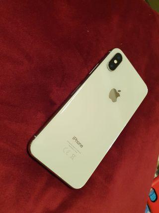 iPhone X 256 GB Plata