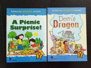 2 LIBROS MACMILLAN CHILDREN'S READERS