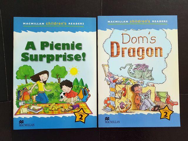 2 LIBROS MACMILLAN CHILDREN'S READERS