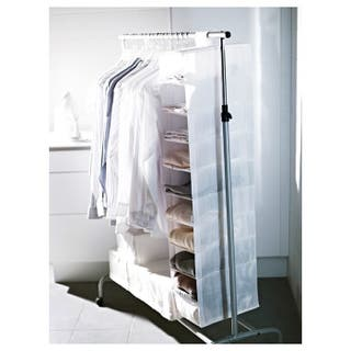 Organizador de ropa para armario (estrecho)