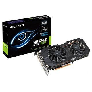 Gigabyte GeForce GTX 960 OC WindForce 4GB DDR5