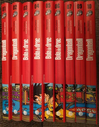 Cómics Dragon Ball nuevos (pack completo)