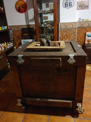 CHOLLO!!! caja mesa centro decoración importación